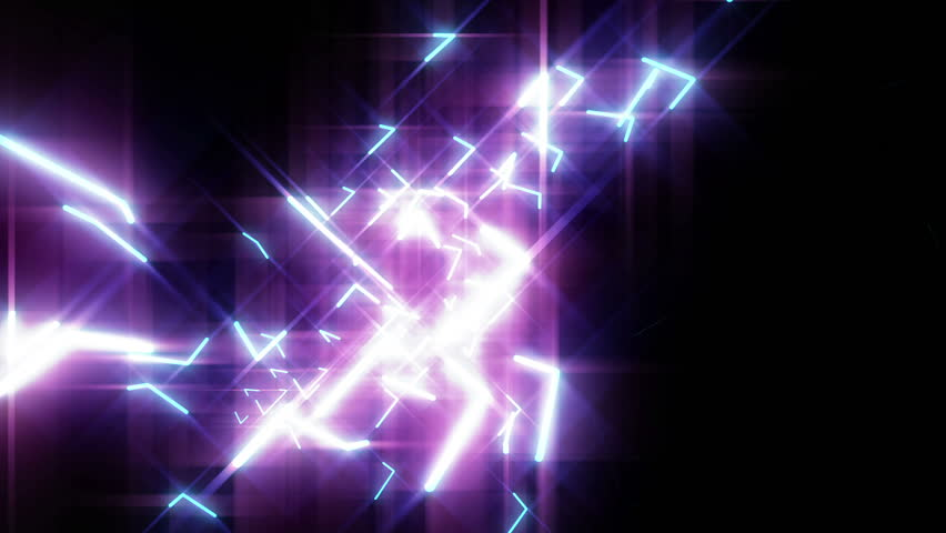 4k Disco Hypnotic Light Centerd Vj Loop Disco Effect: Blue Neon Laser Lights Animated Seamless Motion Graphics