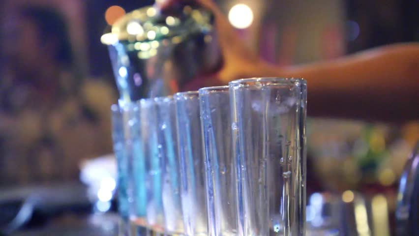 Header of alcoholic drink