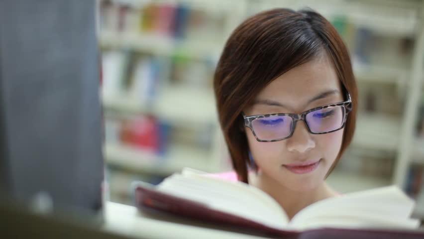 reading girl.