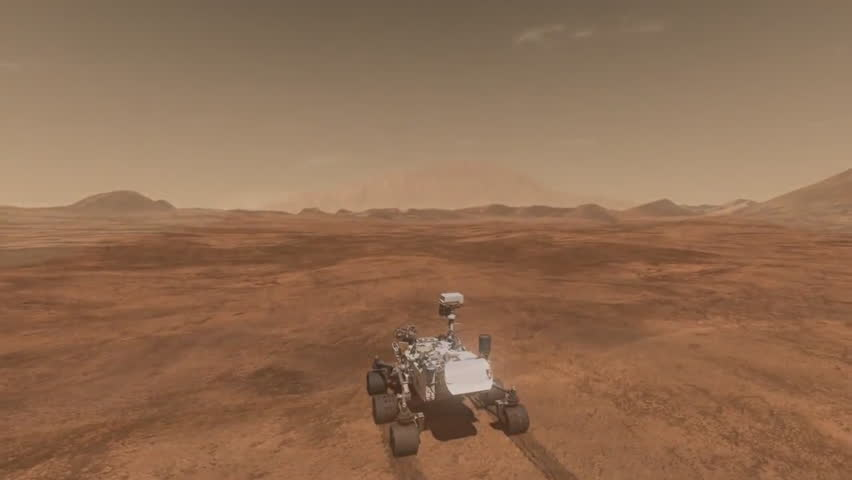 mars curiosity rover landing animation -#main