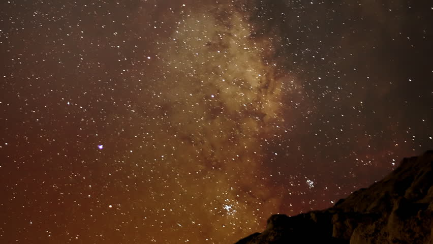 Time Lapse 19 Milky Way Galaxy Zoom out x120