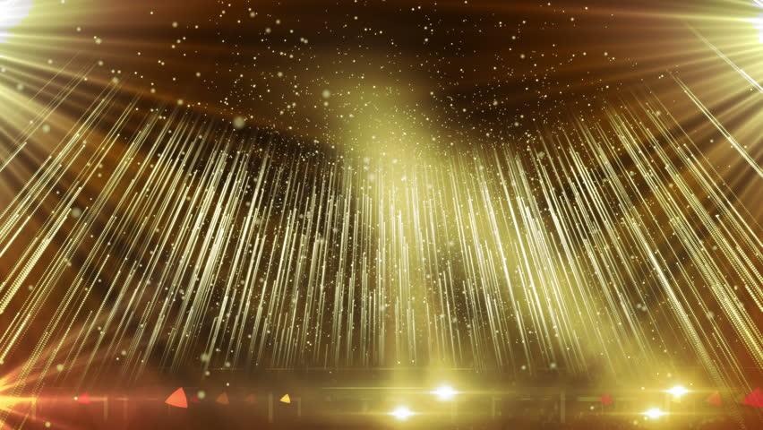 gold stage backdrop background music shine glitter light