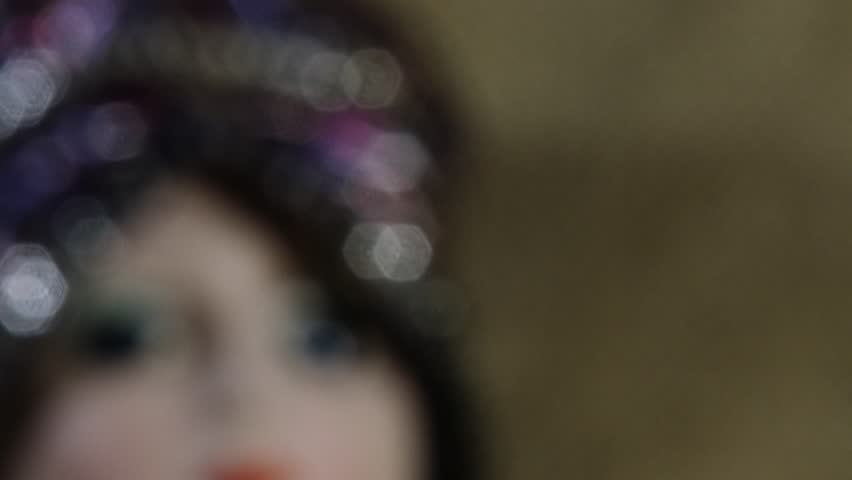 4K Scary Venetian Doll 4K 3840x2160 ultra high definition | Shutterstock HD Video #13510586
