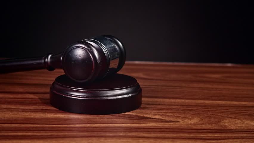 Law Gavel Stock Footage Video 4706525 Shutterstock
