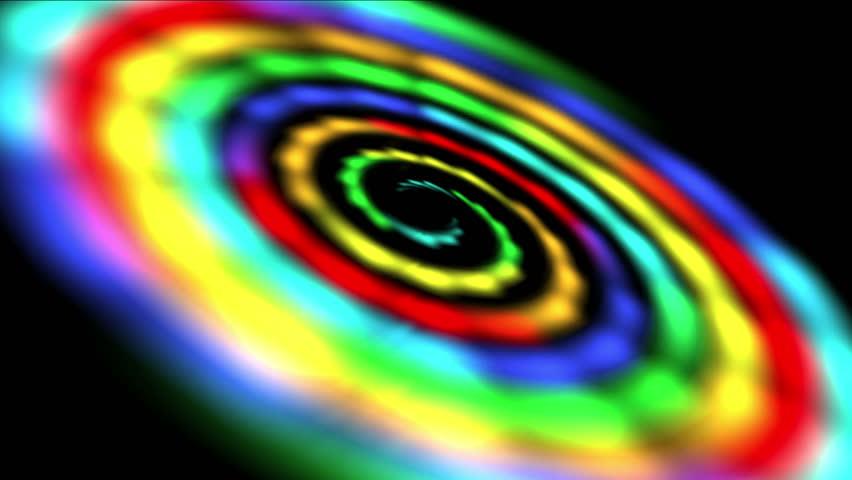 4k rainbow shining space - photo #36