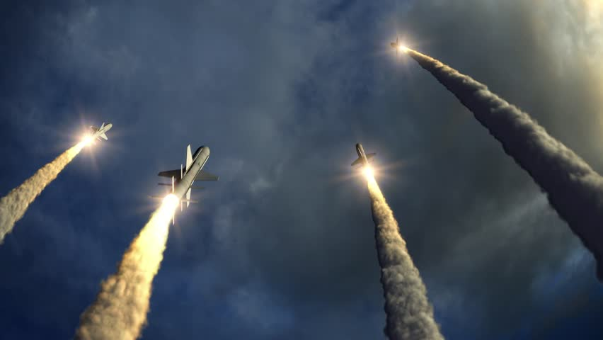 Rockets take off