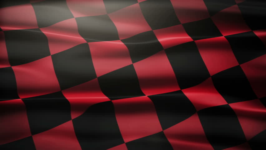 Checkered Flag Close-up. Stock Footage Video 4568342 ...