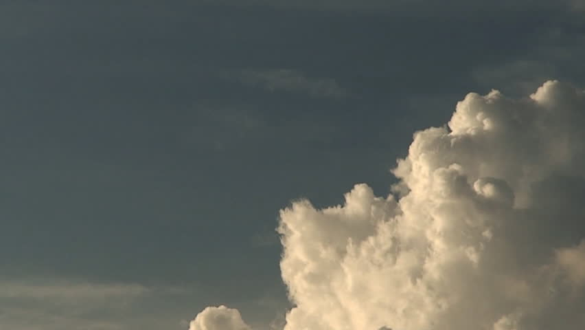 clouds rolling in on the sky in time-lapse - HD stock video clip