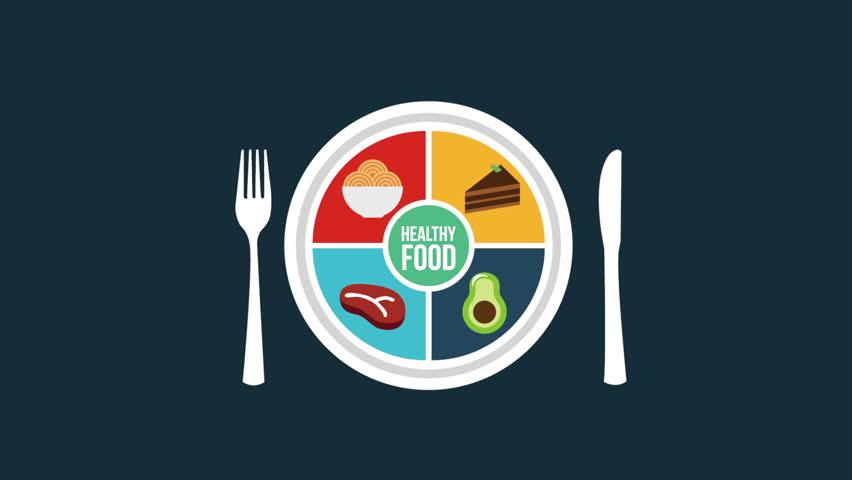 Healthhy  Food design, Video Animation
