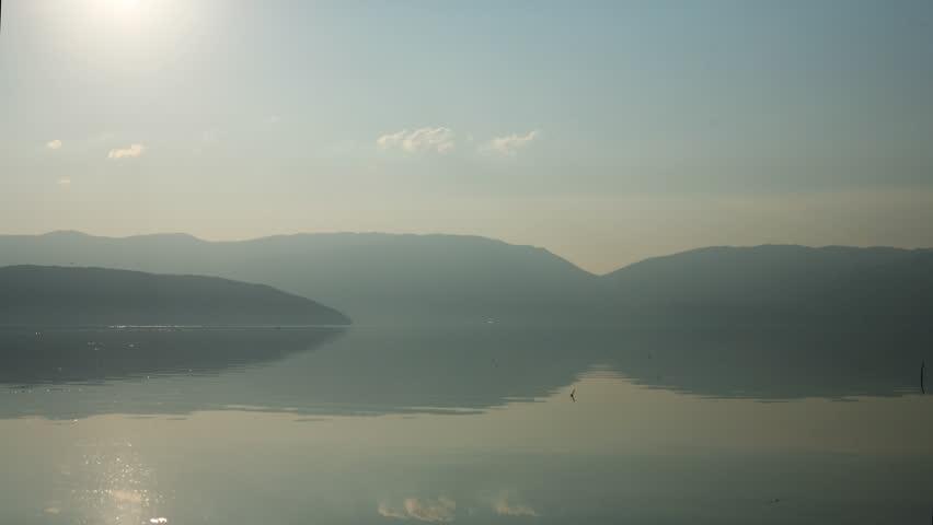 Time lapse of Prespa Lake