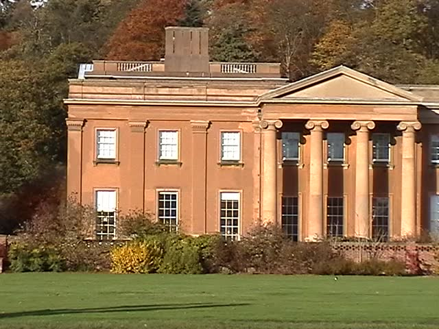 Himley Hall, England - SD stock video clip