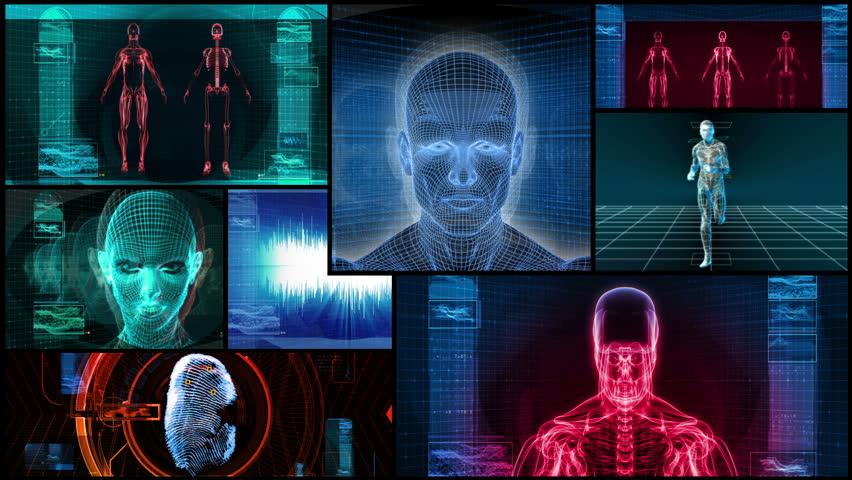 Bionic 3D Medical Science Montage HD Loop