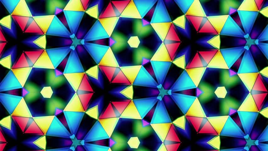 Kaleidoscope - Colors Loop - Different