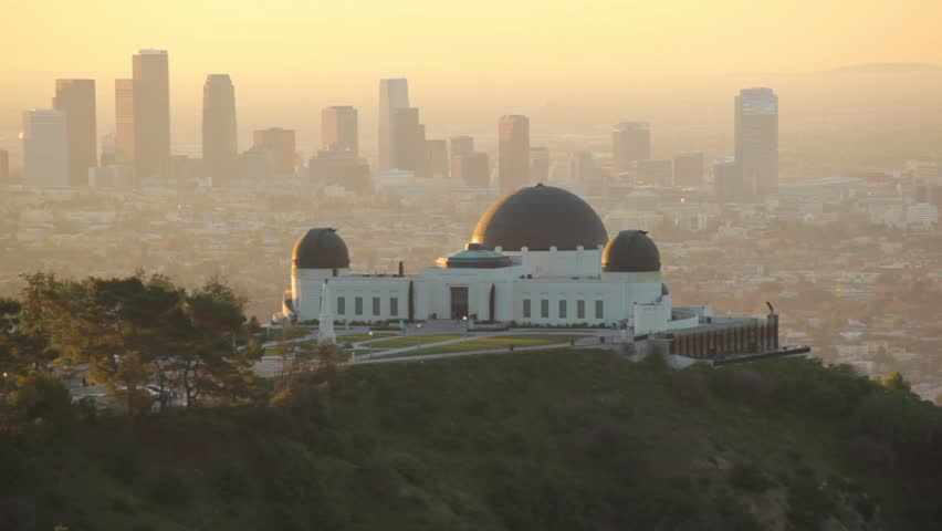 Los angeles at sunrise | Shutterstock HD Video #1826390