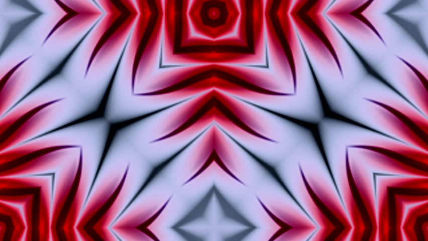 Abstract surreal loop motion background, variegated kaleidoscope | Shutterstock HD Video #18890309