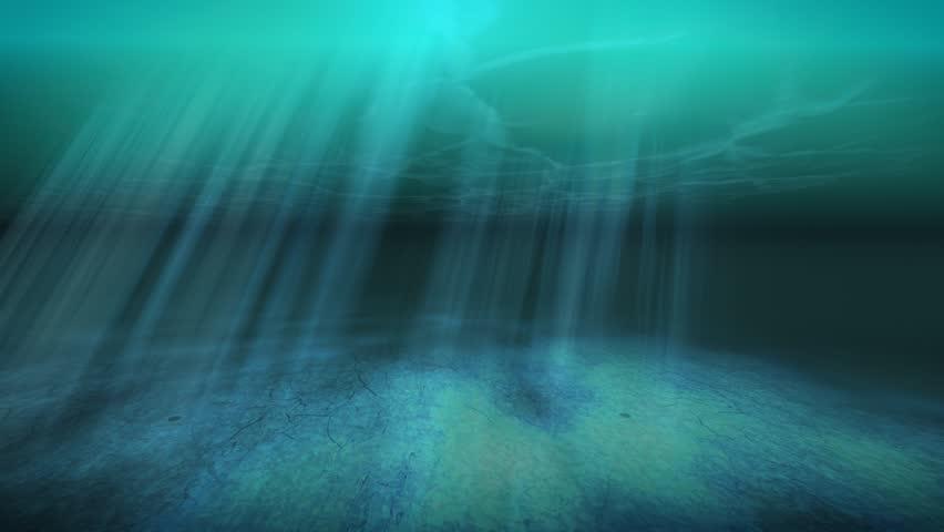 Tropical Underwater Animated Background Scene - Nature ...
