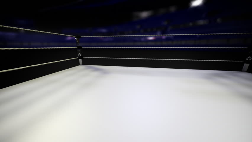 Wrestling Ring / Boxing Ring Background animation - HD stock video clip