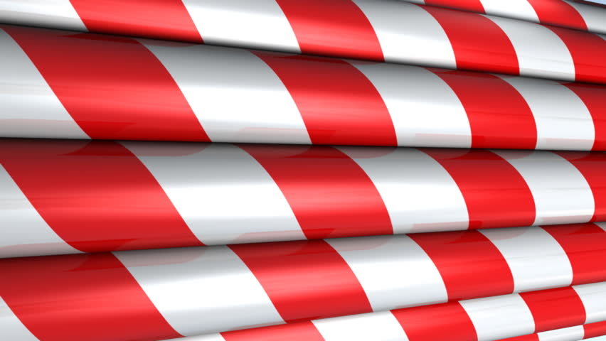 Looping Background - Candy Cane Inspired
