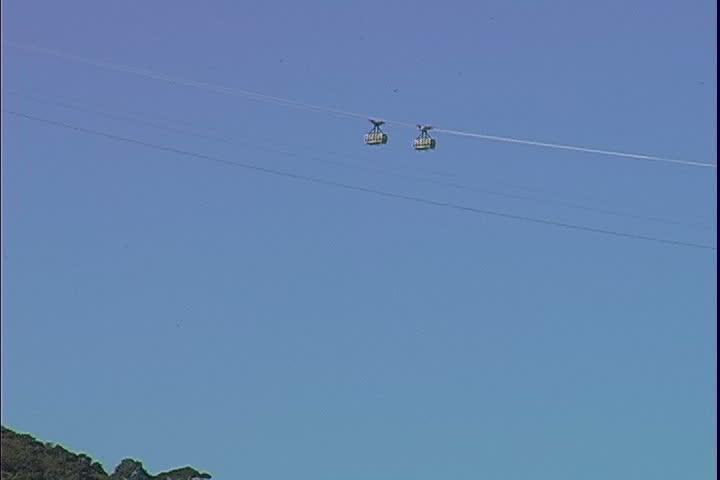 Sugarloaf Trams over Urca
