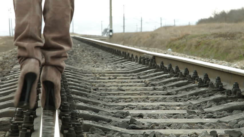 High Heels On The Rail