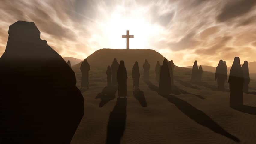 Cross on the Hill | Shutterstock HD Video #2100548