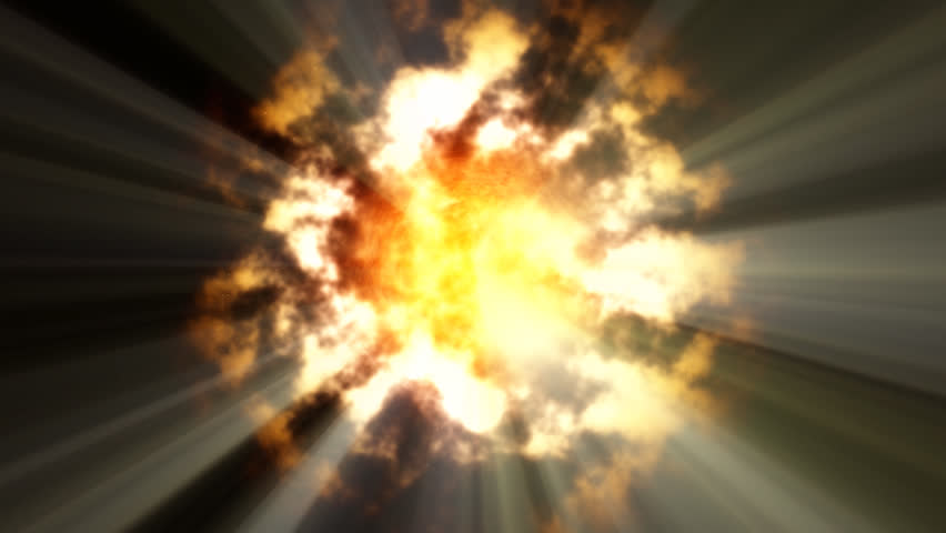 sun & rays - HD stock footage clip