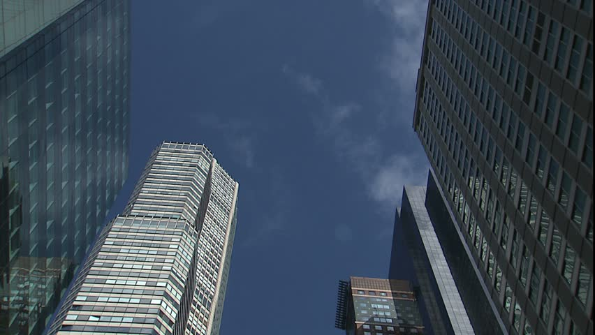 Building tops and clouds for time lapse, New York, NY | Shutterstock HD Video #2288234