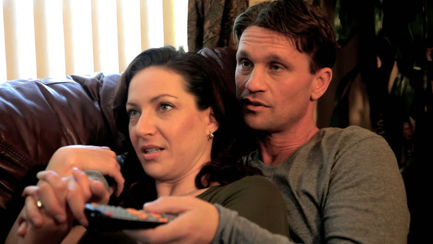 married couple enjoying the moment - HD stock footage clip