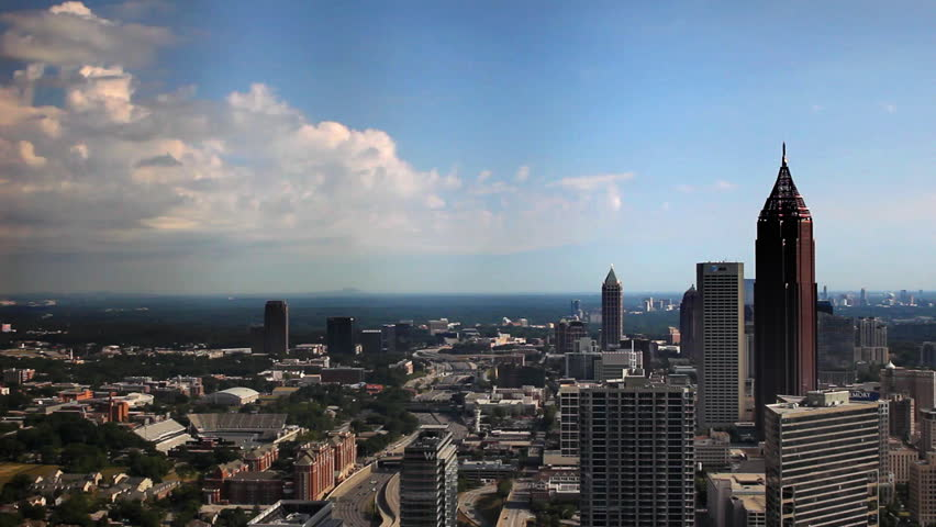 Atlanta Clouds Timelapse