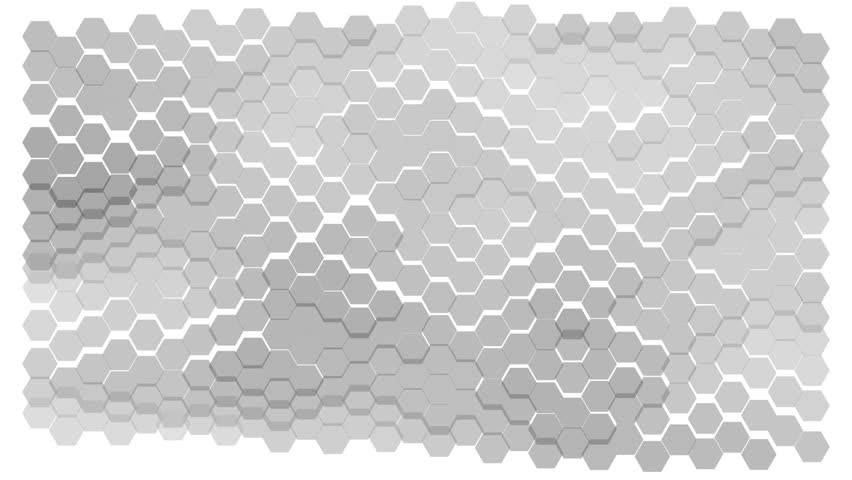 Wavy background consists of moving hexagonal elements   Shutterstock HD Video #24673520