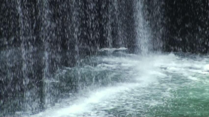Flowing fountain. National September 11 Memorial & Museum.