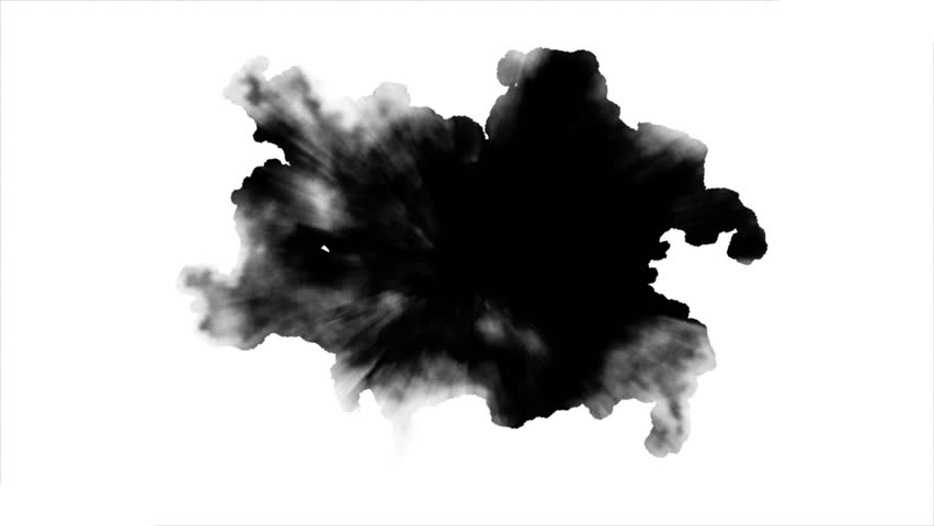 Dripping Ink on white background  | Shutterstock HD Video #24835187