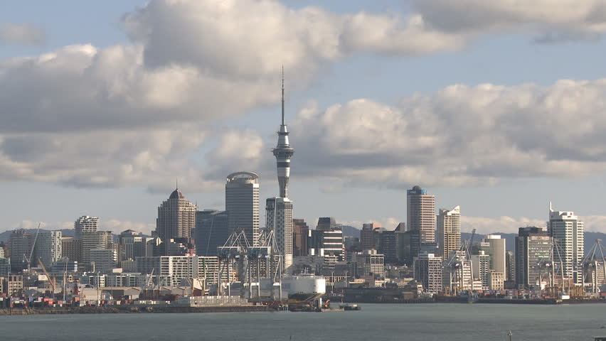 Auckland city time lapse