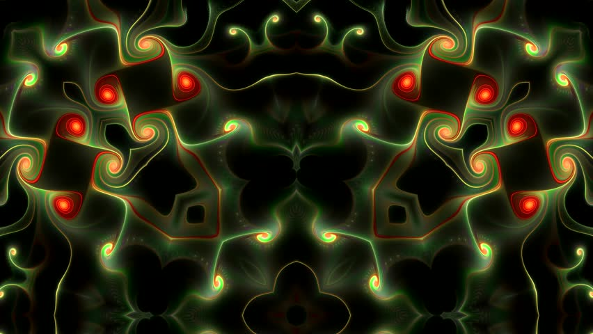 Abstract surreal loop motion background, variegated kaleidoscope | Shutterstock HD Video #25150574
