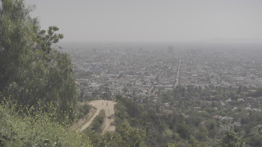 Griffith Park Path, People, Los Angeles | Shutterstock HD Video #25197014
