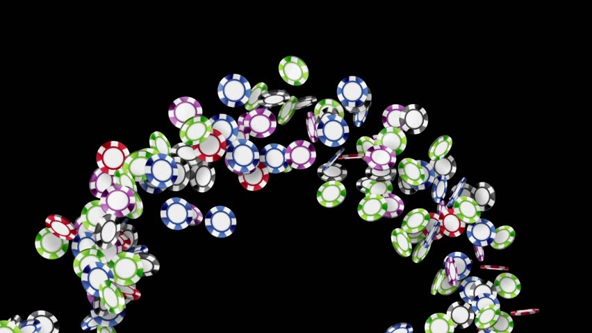 Many Casino chips, CG Animation, | Shutterstock HD Video #25201145