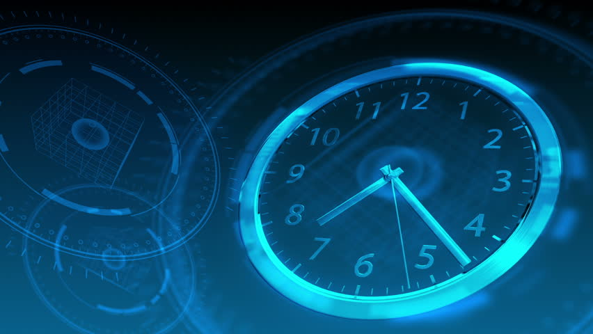 Time Flies - Hi-tech Clock 58 (HD) | Shutterstock HD Video #2520866