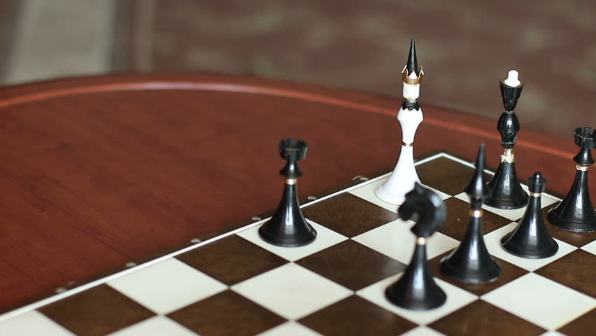 Mat to the King. Surrounding and losing. Symbolism | Shutterstock HD Video #25217876