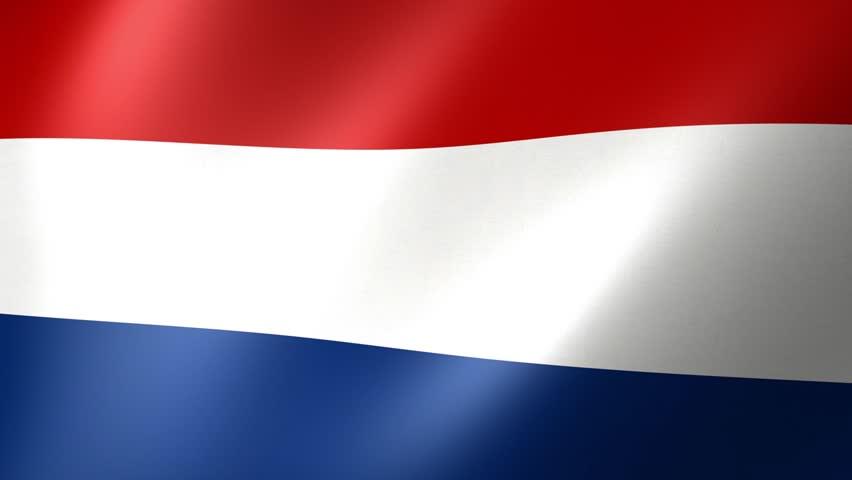 Flag Of Netherlands  | Shutterstock HD Video #25240826