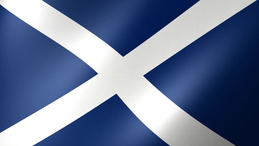 Flag Of Scotland  | Shutterstock HD Video #25240835