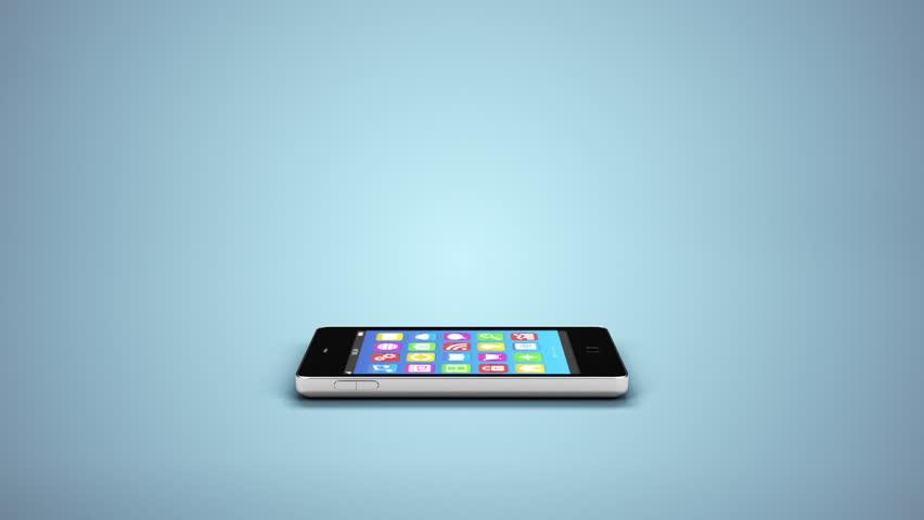 mobile phone app cloud sync concept