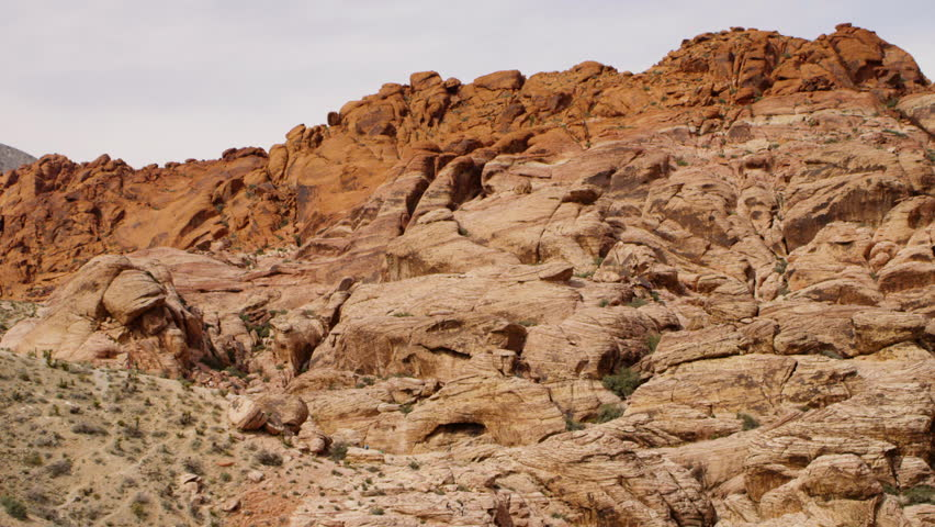 Red Rock Canyon National Conservation Area Rocks | Shutterstock HD Video #25721993