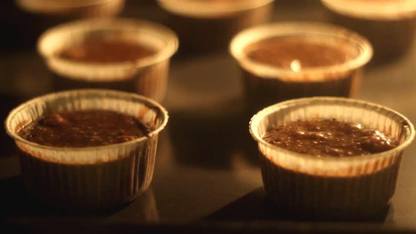 Chocolate Cake, time-lapse