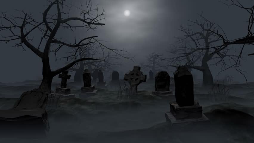 Graveyard loop, 3d animation walktrough.