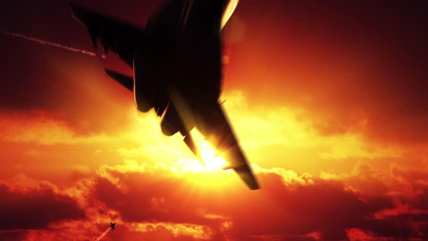 Three Fighter Jets