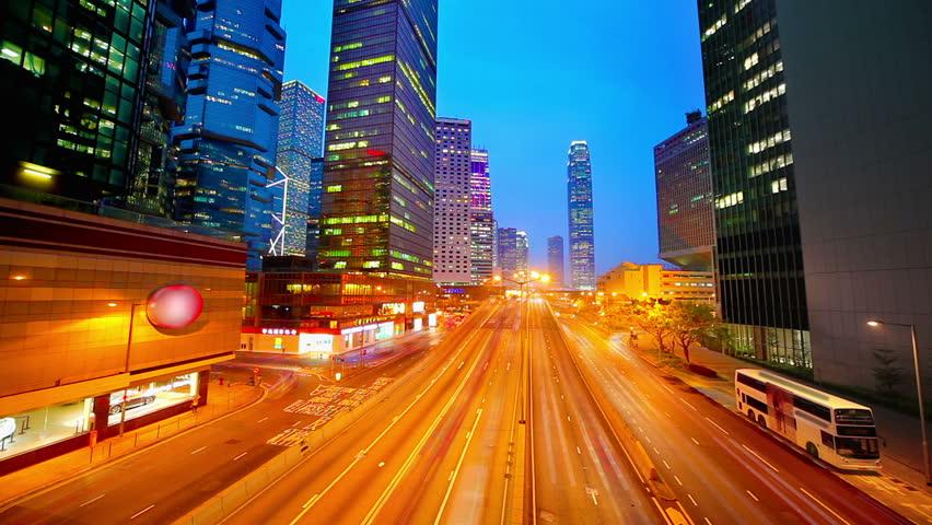 Sunset at HongKong   Shutterstock HD Video #2641808