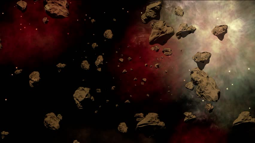 asteroid field hd - photo #5