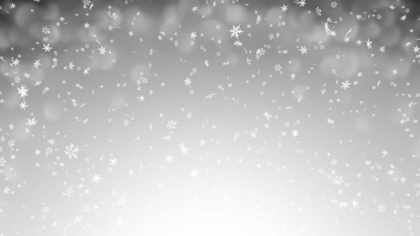 Gentle Christmas Morning Snow - seamless loop