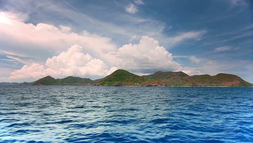Islands on the way from El Nido to Coron, Palawan, Philippines