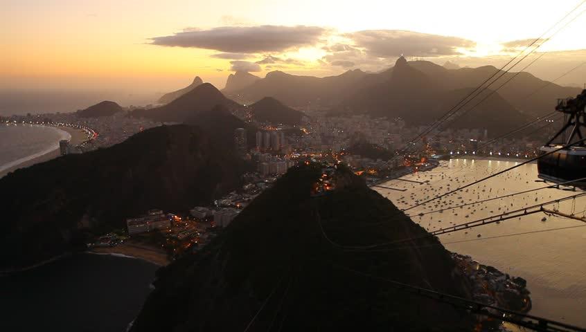 Cable car in Rio de Janeiro, Brazil